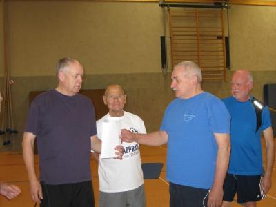 Jüngstes Mitglied der Männergruppe wird 50